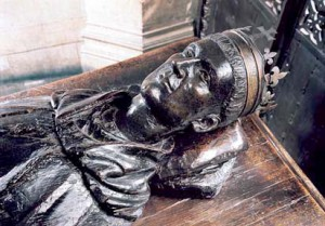 Tomb of Henry V, which lies close to the shrine of Edward the Confessor in Westminster Abbeys